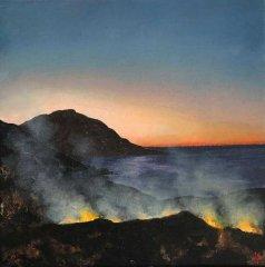 Sunset Fires II