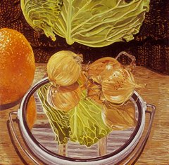 Cabbage with Mirror