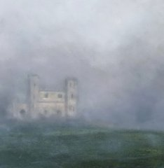 Aherlow Castle in the mist